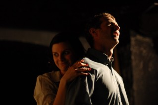 Scott Hinds and Sophie Walton in 'Doggerland'.