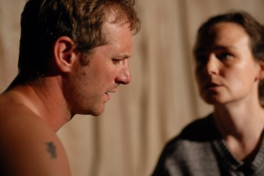 Scott Hinds and Georgina Sowerby in 'Doggerland'.