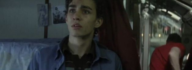 Robert Sheehan in 'Bleak Sea'.