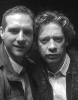 Scott Hinds and Dexter Fletcher in 'Baseline'.