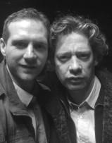 Scott Hinds and Dexter Fletcher in 'Baseline'.