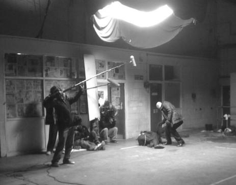 Shooting on 'Baseline'.