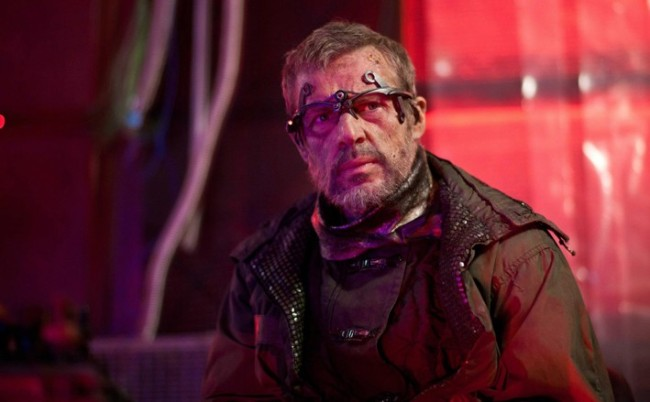 Lambert Wilson ready for action in 'The Nostalgist'.