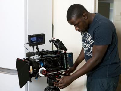 Patrick 'djmarsta' Odur filming ' 'The Beast Next Door'.