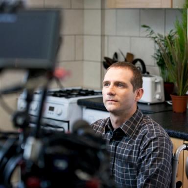 Scott Hinds in 'The Beast Next Door'.