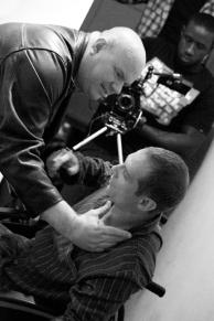 Scott Hinds and Ross Ericson in 'The Beast Next Door'.