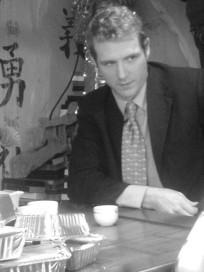 Scott Hinds in 'The Happy Seppuku'.