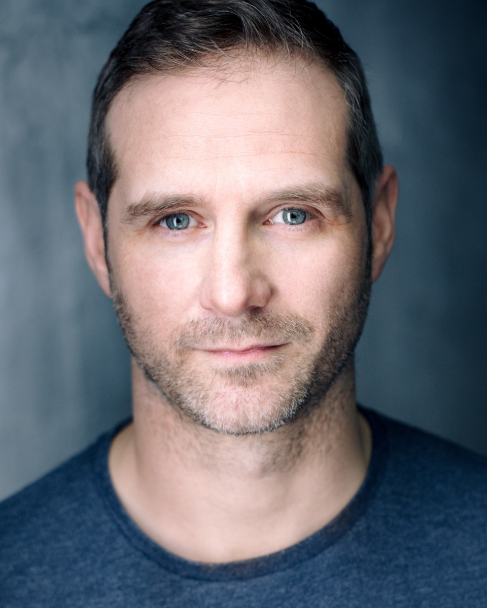 Actor Scott Hinds Headshot
