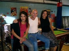 Scott Hinds with other cast members of 'I Proud to be an Indian' .