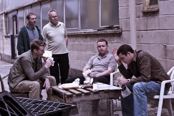 Scott Hinds, Phil Nice, Joe Jackson, Scott Toms and Benjamin Noble in 'Tortoise'.
