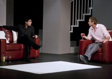 Ben Jones and Vincenzo Pellegrino in 'The Pretender Agenda'.